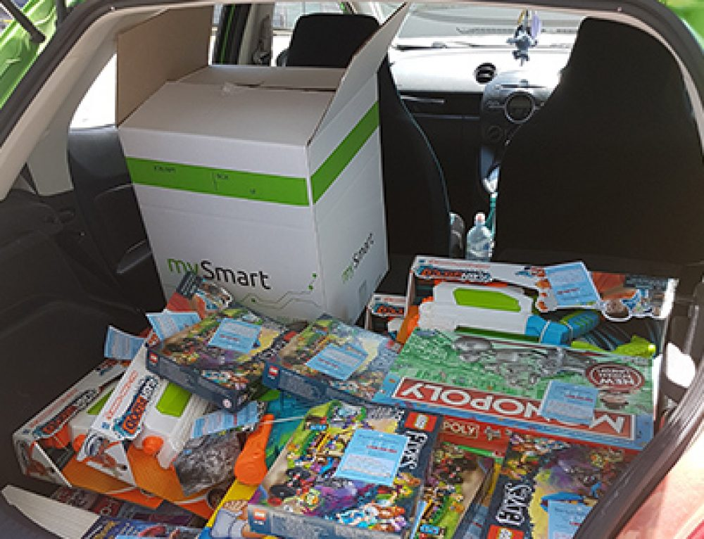 mySmart Donates To The Smith Family Book and Toy Appeal