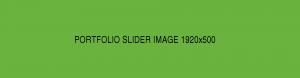 Portfolio Slider Image 1920x500